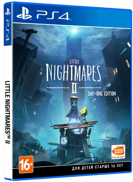 Little Nightmares II. Издание 1-го дня (PS4) (GameReplay)