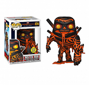 Фигурка Funko POP Marvel Spider-Man: Far From Home – Molten Man (GW) (Exc) фото