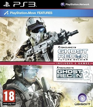Tom Clancy's Ghost Recon Future Soldier + Ghost Recon Advanced Warfighter 2 (PS3)
