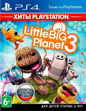 LittleBigPlanet 3 (Хиты PlayStation) (PS4) фото