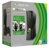 Xbox 360 250 Gb + Darksiders II + Batman: Arkham City
