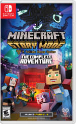 Minecraft Story Mode Complete Adventure (Switch)