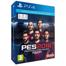 Pro Evolution Soccer 2018 Legendary Edition (PS4)