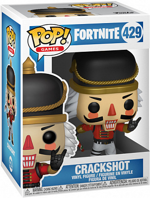 3 figurka funko pop games fortnite crackshot - red nosed raider fortnite pop