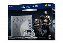 Игровая консоль Sony PlayStation 4 Pro (1TB) God of War Limited Edition + игра God of War