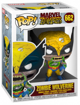 Фигурка Funko POP Marvel Zombies – Wolverine (GW) (Exc) (36648)
