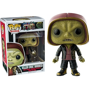 Фигурка Funko POP! Vinyl: Suicide Squad: Killer Croc Hooded фото