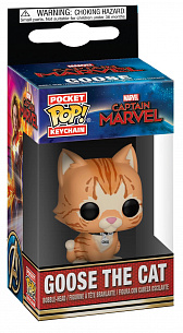 Брелок Funko POP Marvel – Captain Marvel: Goose the Cat