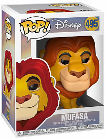 Фигурка Funko POP Disney: Король лев (Lion King) – Mufasa