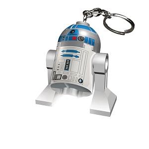 Брелок-фонарик для ключей LEGO Star Wars - R2-D2