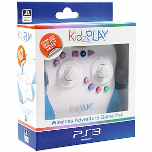 Kidz Play Wireless Adventure Game Pad Голубой от GamePark.ru