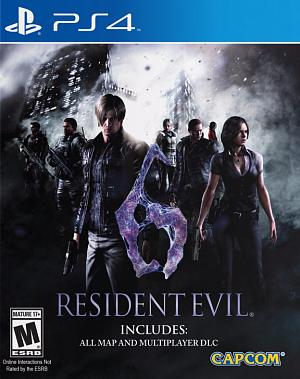 Resident Evil 6 (PS4) от GamePark.ru