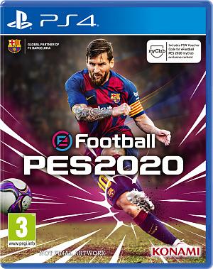 EFootball Pro Evolution Soccer 2020 (PS4) – версия GameReplay фото