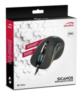 Мышь проводная Speedlink Sicanos RGB Gaming Mouse для PC (black) (SL-680013-BK)
