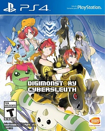 Digimon Story Cyber Sleuth (английская версия, PS4)