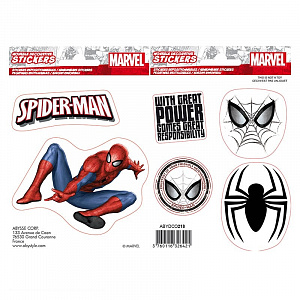 Наклейки ABYstyle: Marvel Stickers – Spider-man X5 (ABYDCO436) фото