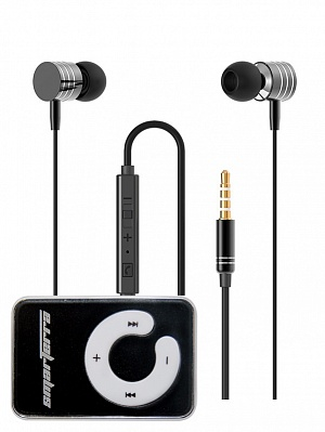 Стереогарнитура Smarterra XQ-700MVC (черный) + MP3 плеер Smarterra Ska Black