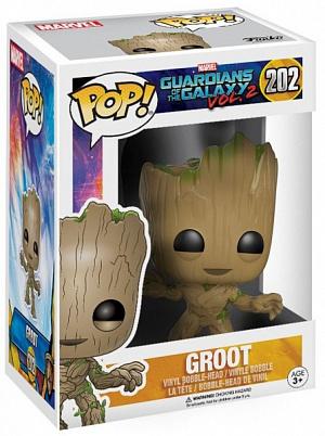 Фигурка Funko POP! Bobble: Guardians O/T Galaxy 2: Groot 13230 фото