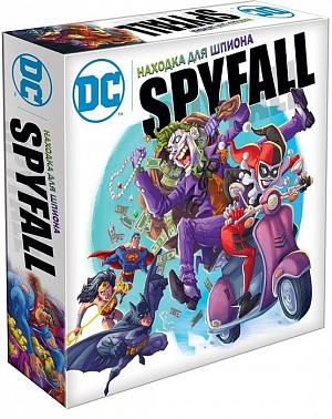 Настольная игра Находка для шпиона: DC фото