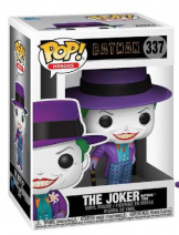 Фигурка Funko POP DC: Batman 1989 – Joker w/Hat w/Chase (47709)