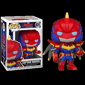 Фигурка Funko POP Marvel Avengers: Mech Strike – Captain Marvel (55235)