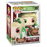 Фигурка Funko POP DC Holiday – Harley Quinn w/Helper (50656)