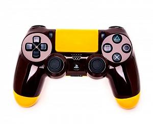 Геймпад DualShock 4 ШТУРМОВОЙ КОРИЧНЕВЫЙ (PS4)