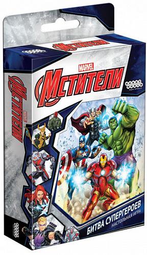 Настольная игра Мстители: Битва супергероев фото