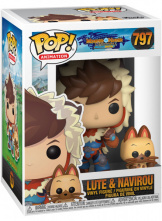 Фигурка Funko POP Monster Hunter Stories – Lute w/Navirou (46936)