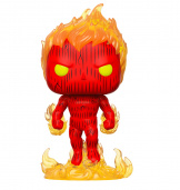 Фигурка Funko POP Marvel: Fantastic Four – Human Torch