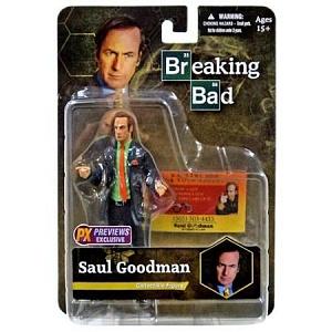 Фигурка Breaking Bad Saul Goodman Green Shirt 16 см