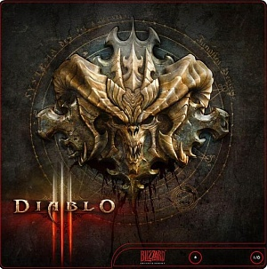 Наклейка PS3 Super Slim Diablo III (PS3)