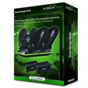 Зарядная станция Dual Charge Dock with 2 Rech. Batteries для Xbox One