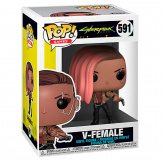 Фигурка Funko POP Games: Cyberpunk 2077 – V-Female (47510)