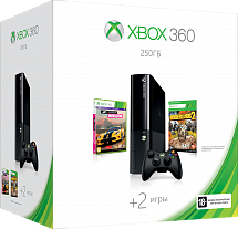 Xbox 360 250 Gb + Forza Horizon + Borderlands 2