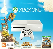 Игровая консоль Microsoft Xbox One 500GB + Sunset Overdrive