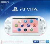 PS Vita Slim Wi-Fi Light Pink / White