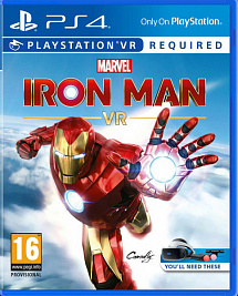 Marvel's Iron Man VR (с поддержкой VR) (PS4)