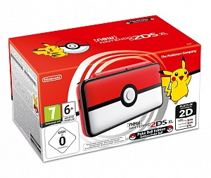 New Nintendo 2DS XL Poke Ball Edition. Ограниченное издание (3DS) от GamePark.ru