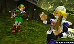 Скриншот Legend of Zelda Ocarina of Time 3D (3DS), 1