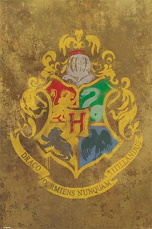 Постер Maxi Pyramid – Harry Potter (Hogwarts Crest) (61 x 91 см) фото