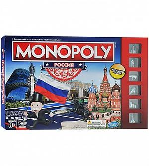 Монополия Россия (новая уникальная версия) HASBRO фото