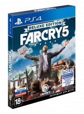 Far Cry 5. Deluxe Издание (PS4)