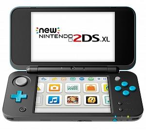 Игровая приставка New Nintendo 2DS XL (черный + бирюзовый)
