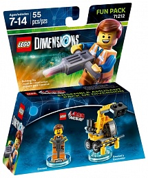 LEGO Dimensions Fun Pack - Lego Movie (Emmet, Emmet's Excavator)