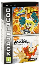 Spongebob Squarepants: The Yellow Avenger + Avatar: The Legend of Aang (PSP)