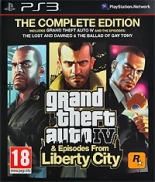 Grand Theft Auto IV + Episodes from Liberty City (PS3)