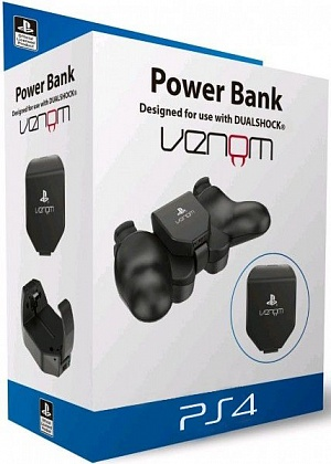 Дополнительный аккумулятор Venom Power Bank для Dualshok 4