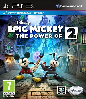 Disney Epic Mickey 2: The Power of Two /ENG/ (PS3)