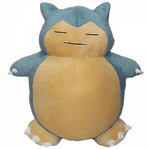 Плюшевая игрушка Покемон Снорлакс Snorlax Pokemon, 21 см